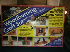 Vintage 1993 168 Woodburning Craft Set Featuring Atf WonderPen