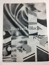 BLEACHED BLACK Relativity Records PRESS KIT Photo Bio Poster 1987
