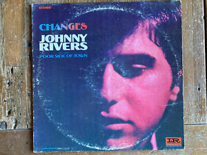 "Johnny Rivers – Changes - Imperial – LP-12334 - 12"" Vinyl Play Tested"