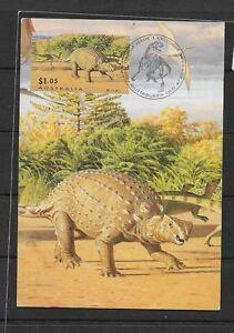 O) 2015 AUSTRALIA, FRIENDLY DINOSAUR, MAXIMUM CARD, XF