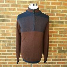 Ashworth Golf Merion Wool Half Zip Wind Sweater