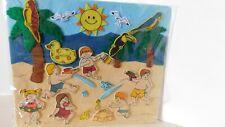 Feltkids Board Activity Beach Summer Felt Board