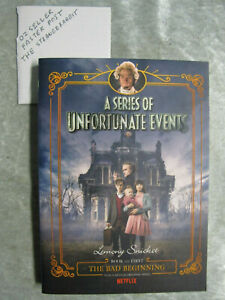 The Bad Beginning - Lemony Snicket series of unfortunate events #1 OzSellerFast