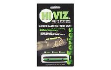 NEW! HIVIZ Wide Magnetic Fiber Optic Shotgun Sight with Green Light Pipe S400-G