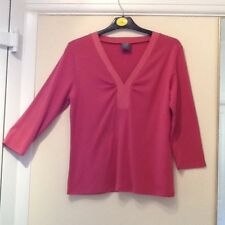 IZ  -   Ladies Rose Pink Top - Size M (used but in excellent condition)