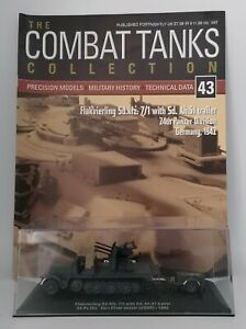 DeAgostini - Combat Tanks Collection - Flakvierling Sd.Kfz. 7/1 with Sd. Ah.51 t