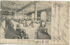 CP / POSTCARD / UNITED STATES OF AMERICA / USA NEW-YORK FIFTH AVENUE RESTAURANT