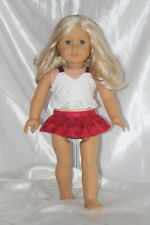 Swimsuit fits 18inch American Girl Doll Clothes Lot Dress Bathing Suit