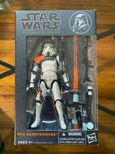 Star Wars Black Series Sandtrooper #03 Orange Line Action Figure