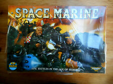 D9C10 BOARD GAME SPACE MARINE HORUS HERESY EPIC 40000 NIB SOUS PLASTIQUE (1989)