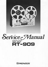 Pioneer RT-909 Service Manual RT909 RT 909