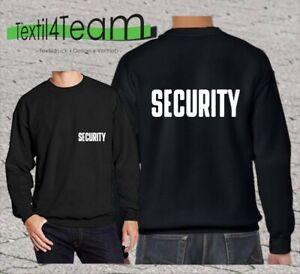 SECURITY Sweatshirt Langarm Sicherheitsdienst Ordner Pullover