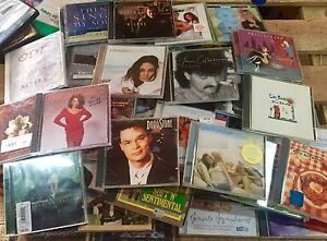 Assorted CDs Lot of 50 Different Types of Artists/Bands ALL FAIR-MINT CONDITION