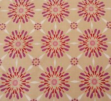 Impressions Fall 2012 Celeste Ty Pennington BTY Purple Coral Pin Beige Floral