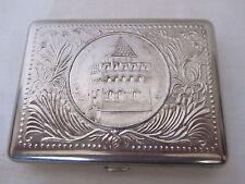 """Rare Vintage USSR Soviet Cigarette Case """"TOWER"""" GORKY"""