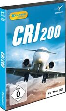 Crj-200 Add-on for Xplane11 PC DVD