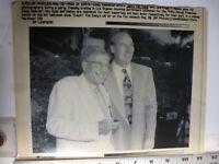 "Vintage Wire Press Photo Jerry Van Dyke Craig T Nelson At Emmy's ""Coach"" 1992"