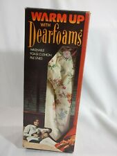 Vintage Womens Warm Up With Dearfoam NOS Floral Print Size 6 1/2 - 7 1/2
