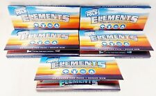 4 Packs Elements Perfect Fold Ultra Thin Rice 1 1/4 Cigarette Rolling Papers