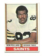 1974 Topps #442 Bob Pollard New Orleans Saints