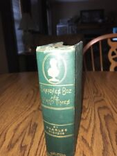 Sketches by Boz by Charles Dickens Antique 1885 G W Carleton Edition HC