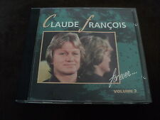 """CD """"CLAUDE FRANCOIS FOR EVER, VOLUME 2"""" best of 13 titres"""