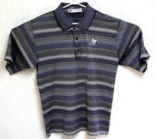 Slazenger VTG 90s Mens Blue Grey Kapalua Golf Course Polo Large Shirt EUC