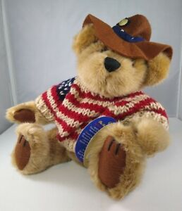 """Pickford Brass Button Bears Collection CODY The Bear Of Friendship Teddy 11"""""""