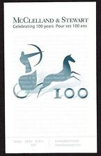 Canada 2006 Booklet #324 McLelland & Stewart 100th Anniversary, 2 panes of 4