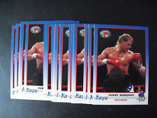 Lot of 20 1991 Kayo Boxing Tommy Morrison Rookie Cards