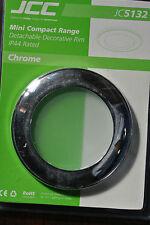 JCC 5132 IP44 Chrome/Opal Glass Rims for JC5090 5091 Mini Compact CFL Light