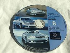 02 03 2004 MERCEDES G500 SL600 SL500  NAVIGATION CD 8 MD NJ NC PA  2008 UPDATE ©