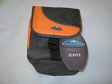 Large Camera Case Bag Swordfish Denver Camera Camcorder Brown Orange Universal