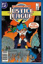 JUSTICE LEAGUE INTERNATIONAL # 9 - DC 1988 (fn-vf)  Millennium Week 1