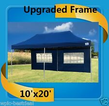 10'x20' Pop Up Canopy Party Tent EZ - Navy Blue - F Model Upgraded Frame