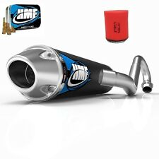 HMF Competition Comp MX System Exhaust Pipe + Jet + Uni Filter TRX 450R 04-05