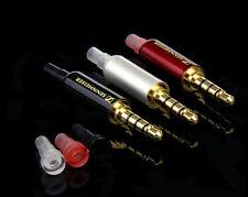 Sennheiser 4-pole 3.5mm Stereo MIC Audio Male Female Plug Jack Soldering