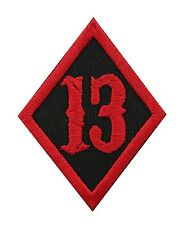 #13 DIAMOND BIKER MC PATCH