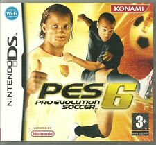 JEU DS NINTENDO DS : PRO EVOLUTION SOCCER PES 6 FOOT FOOTBALL / EN FRANCAIS