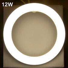 2pcs x 12W Circular LED Tube G10Q Warm white 3000K 225mm T9 round tube light