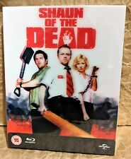 SHAUN OF THE DEAD Blu-Ray EVERYTHINGBLU Limited Exclusive Lenticular STEELBOOK