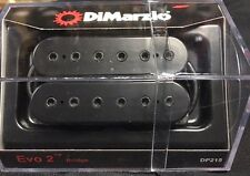 DiMarzio DP215 Evo 2 Bridge Pickup  Black Regular Authorized Dealer New!