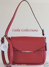 New Coach Taylor Leather Mini Flap Crossbody Bag/Purse-F31844-Silver/Berry