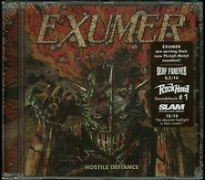 Exumer Hostile Defiance Jewel Case CD new German press