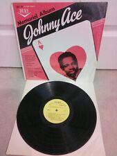 Johnny Ace – Memorial Album Vinyle 30.5cm LP DLP 71 Jamaïcain Édition ?