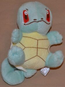 "5"" Squirtle # 007 Cute Plush Dolls Toys Stuffed Animals Pokemon 2011 Version 1"