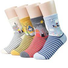 Hayao Miyazaki Womens Anime Cartoon Cute Socks One Size (Studio Ghibli) - FAST