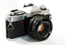 Minolta XG-1 XG-9 XG-7 35mm Manual Camera with MD F2 Lens Photography Students