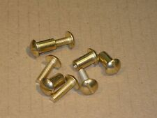 Hand Saw Handle Screws - 4 sets - Brass Plated - S8100