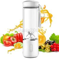 500ML Mini Blender Personal Juicer USB Recharge 6-Blades Fast Smoothie Mixer